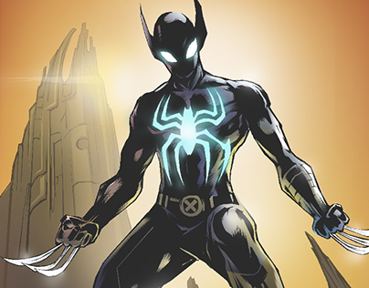 Spiderman X Wolverine as Spiderverine