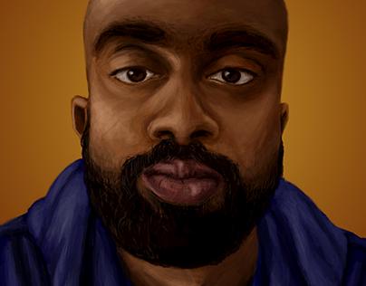 Digital Paintaing Portrait #1