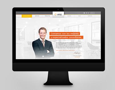 APDE website