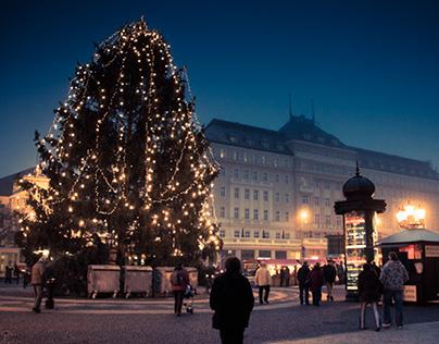 The Christmas Lights of Bratislava