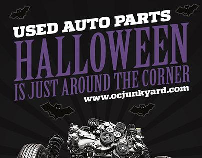 Halloween 2018 - Quantum Auto Dismantler