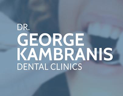 Dr. George Kambranis Dental Clinics Website Design