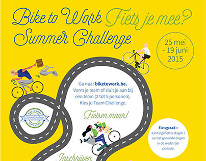 Bike to Work Summer Challenge 2015