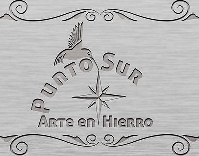 Punto Sur Arte en Hierro Logo
