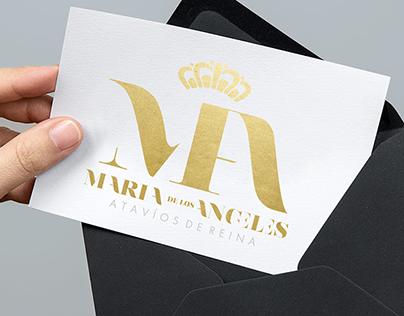 María de los ángeles - Jewerly Logo Desing