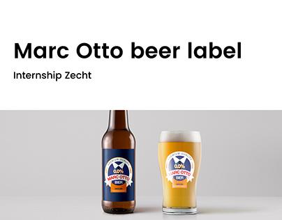 Marc Otto beer label   Zecht