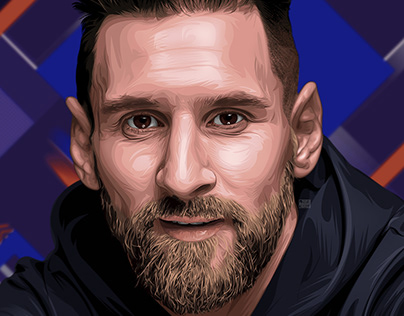 Digital Portraits: Soccer players #2