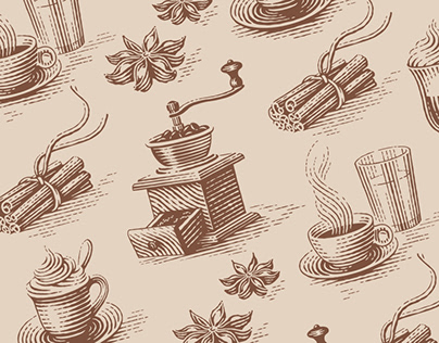 Illustrations for a book about viennese coffee