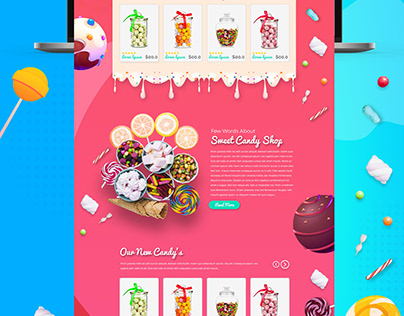 Sweet Candy Shop