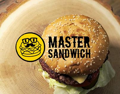Master Sandwich Branding