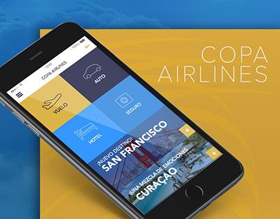 Copa Airlines App & Web Design