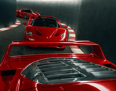 Secret Tunnel and Some Ferraris
