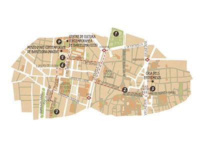 Barcelona plaça a plaça