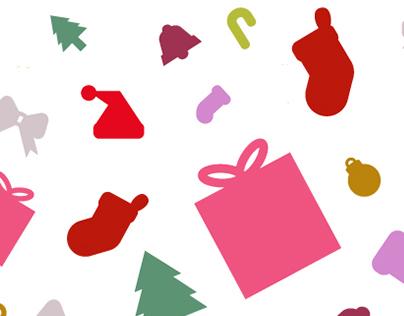 Freebie: Free Flat Christmas Vector Icons