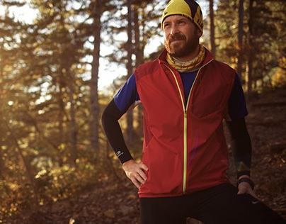 Trail Running - Wooden Playground