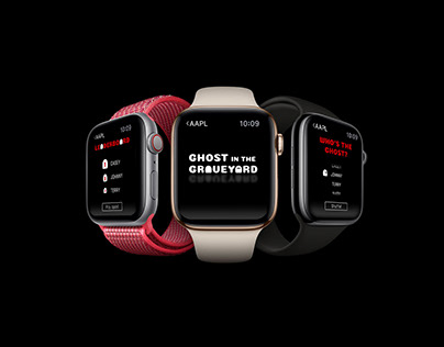 Apple Watch | GHOST IN THE GRAVEYARD