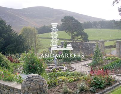 Landmarkers logo & website
