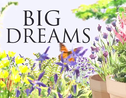 Plant Illustrations for BBC2 Big Dreams Small Spaces