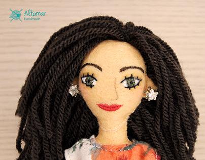 Marta. Handmade Custom Doll