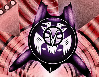 The Screech - Owl-Themed Superhero