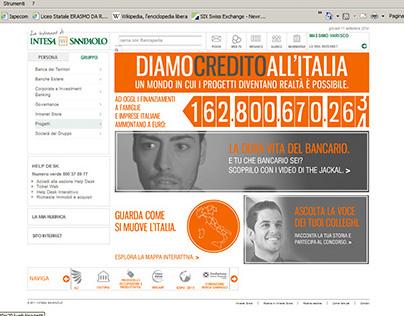 BANK Intesa San Paolo: Interactive map for employers.