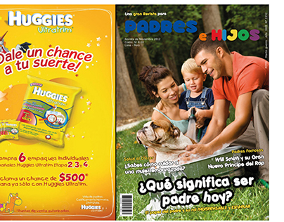 Portada Revista Padres e Hijos