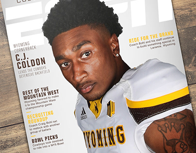 Wyoming Football Recruiting Graphics