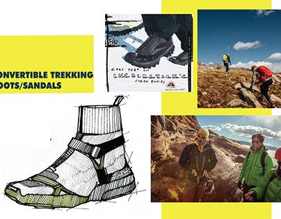 TREKKING BOOTS/SANDALS