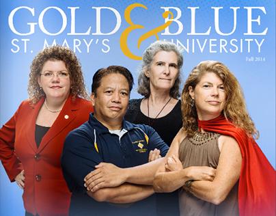 St. Mary's University | Gold & Blue Fall 2014