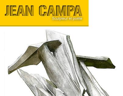 UI Webdesign + Logo for Sculptor and Poet (Jean Campa)