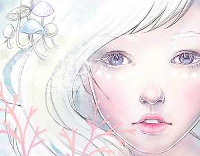 An Albino Girl
