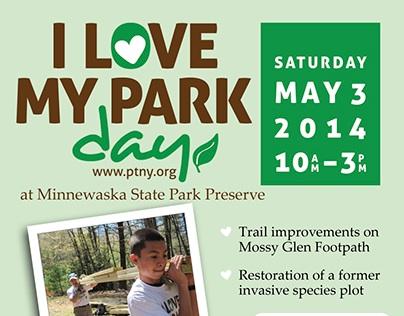 I Love My Park Day 2014 Flyer