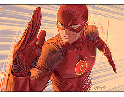 The Flash tv series versión