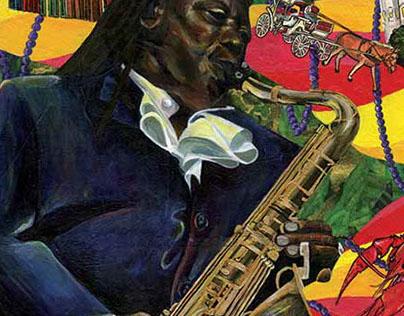 Clarence Clemons NOLA Jazz Festival
