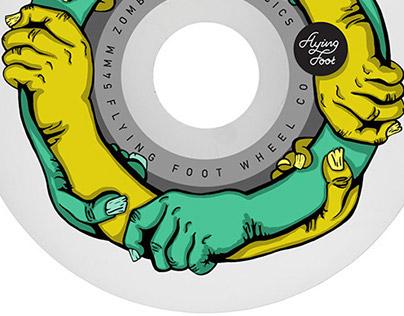 Flying Foot - Skate wheel Co