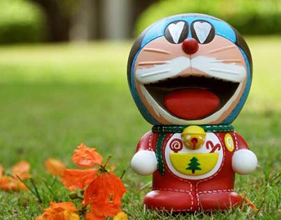 Custom Toy Doraemon 100 years before Birth Celebration!