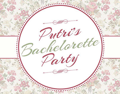 Putri's Bachelorette Design
