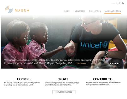 Magna: NGO/Student Platform