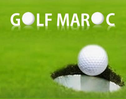 Golf club Web Design made in 2010 - Golf Maroc