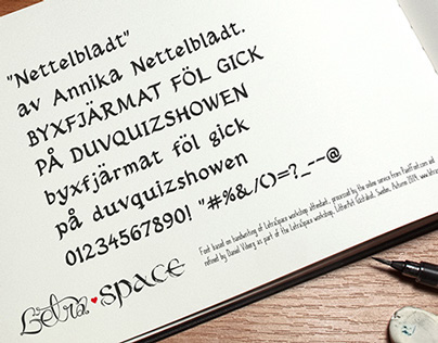 LetraSpace - Free fonts
