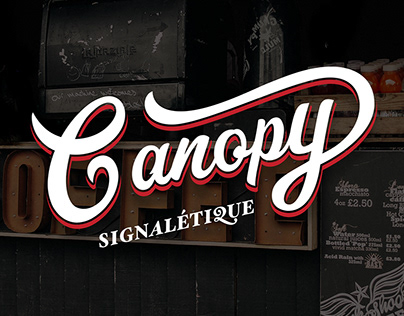 Canopy - Traditionnal manufacturer of signage