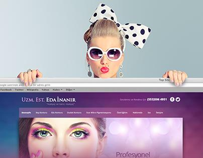Eda İnanır Official Website