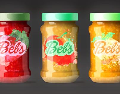 Beb's Jam Package Design