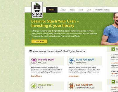 Stash Your Cash Web Design