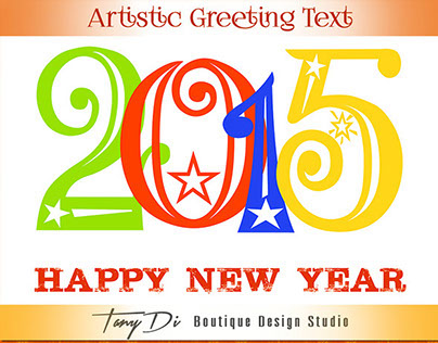 2015 Happy New Year Greeting Text