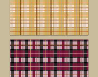 Softly Plaids Pattern