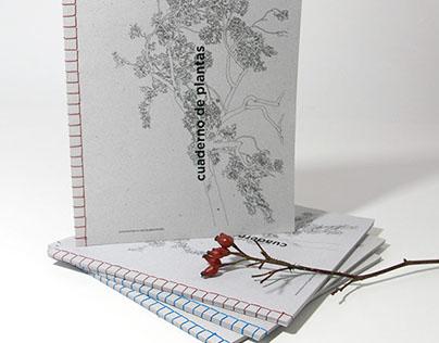Cuaderno de plantas