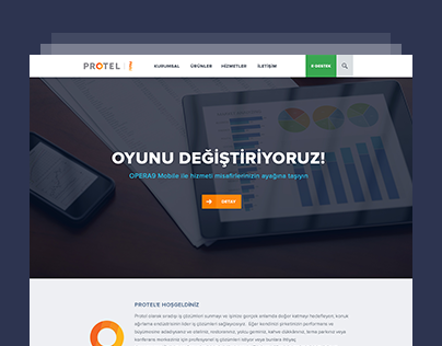 Protel Corporate Web Site