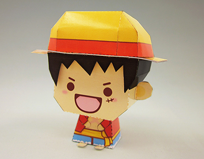 One Piece_Papertoy