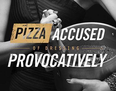 Five50 Pizza | Campaign & Invitation